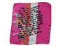 Sex Text Batique Silk Scarf 'Softly she undulated...'