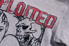The Exploited -  Punk Band Sweater- Grey