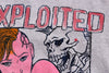 The Exploited - Skeleton Sex- Punk Band Sweater M 38""