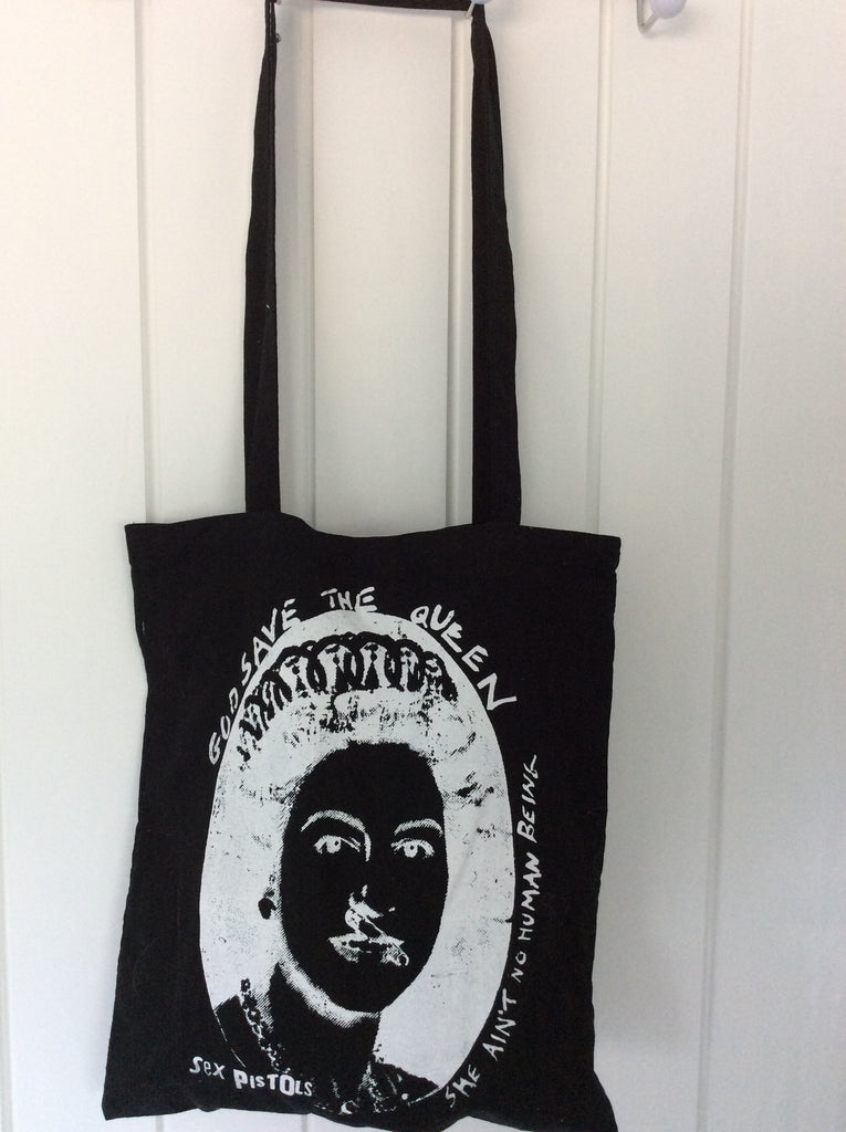 Punk Bag God Save the Queen - Sex Pistols Shopper