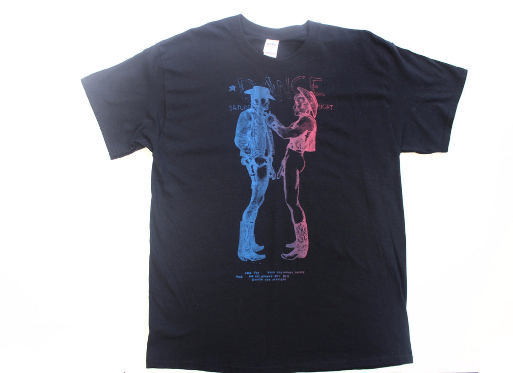 Seditionaries TWO COWBOYS Black Tshirt Large & XL