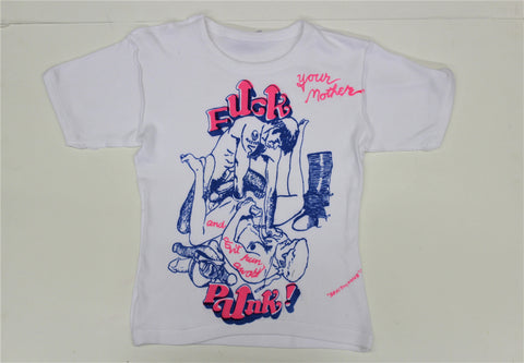 Fuck Punk Orgy print  T-Shirt     (nsfw)  inside out