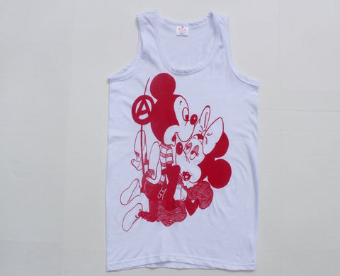 Seditionaries Mickey Minnie Mouse SEX Punk Tank Vest