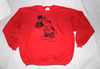 Seditionaries Mickey Fix Sweater - Red Jumper -XXL