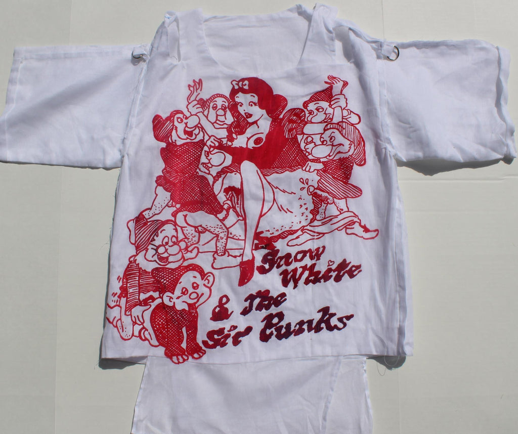 Snow White & Sic Punks -Short Sleeve Bondage Shirt 34""