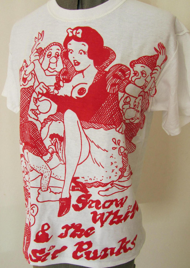 Snow White and the Sir Punks - Seditionaries Punk T-shirt