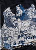 Snow White and the Sir Punks - Navy Sweater with Sewn-on Patch