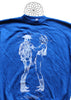 Seditionaries Naked Cowboys Blue Sweater