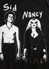 Handcuffs - Sid Vicious and Nancy - Sex Pistols Punk Black Inside Out T-shirt XL 42""