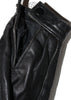 Vintage 1970s Black Leather Jacket - Cafe Racer