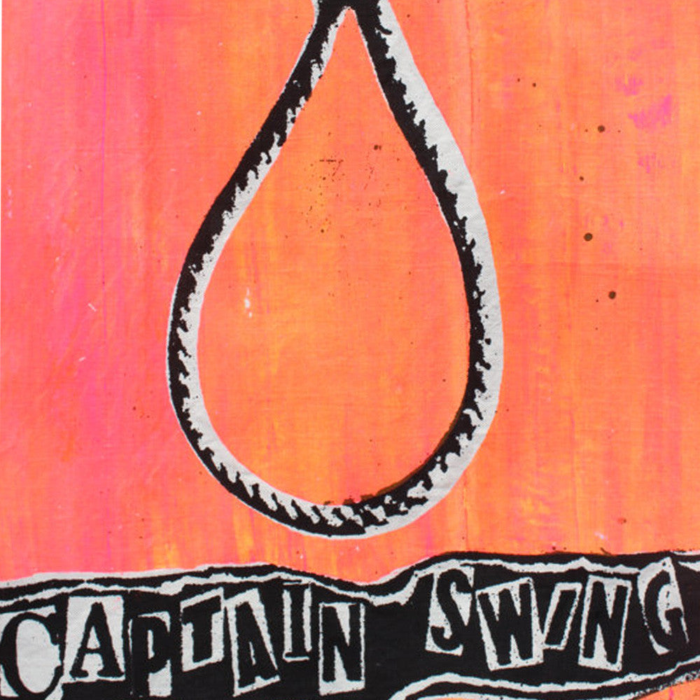 God Save Captain Swing ! Punk Canvas Fabric