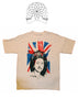 Sex Pistols God Save The Queen Union Jack Flag- punk T-shirt - Small 36""