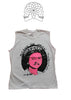 God Save The Queen - Sex Pistols  Punk Vest - T-Shirt 34-36""