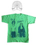 Handcuffs - Sid Vicious and Nancy - Punk T-shirt - Yellow or Green Tee
