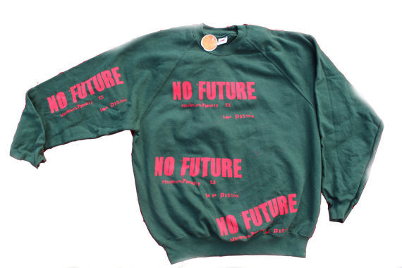 Sex Pistols No Future Sweatshirt Anarchy Punk Jumper