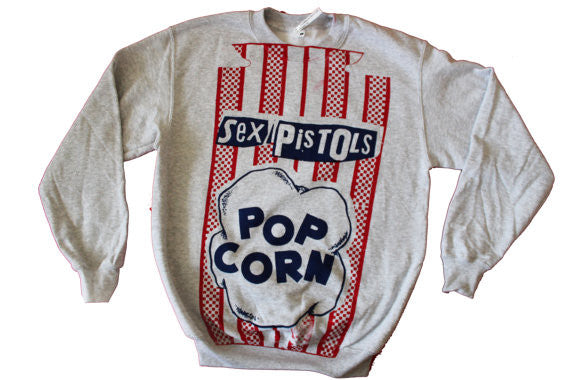Popcorn Sweatshirt Sex Pistols Grey Sweater