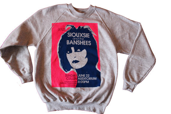 Siouxsie and the Banshees PuNk SWEATSHIRT XL & 2XL