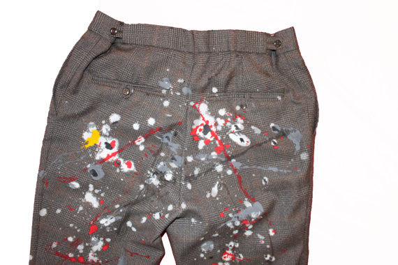 SPLAT! Punk Tweed Trousers