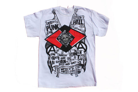 Anarchist Punk Gang - Seditionaries T-shirt - Create Hell