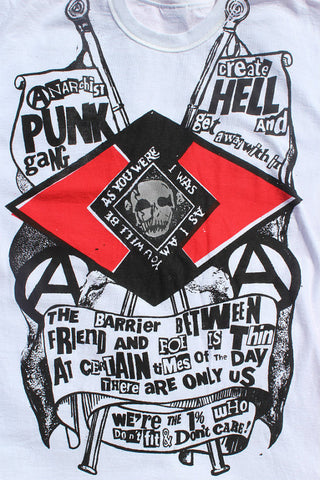 Anarchist PUNG GANG Create Hell - Seditionaries T-shirt