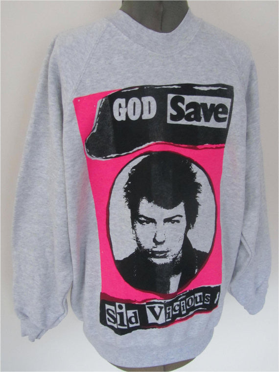 God Save Sid Vicious Sweatshirt