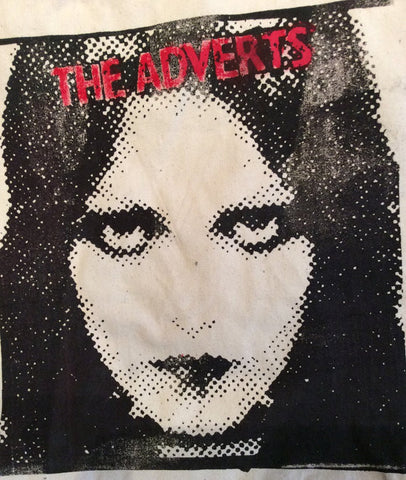 Punk BAG - The Adverts - Gaye Advert- First Lady of Punk- Retro Shopper