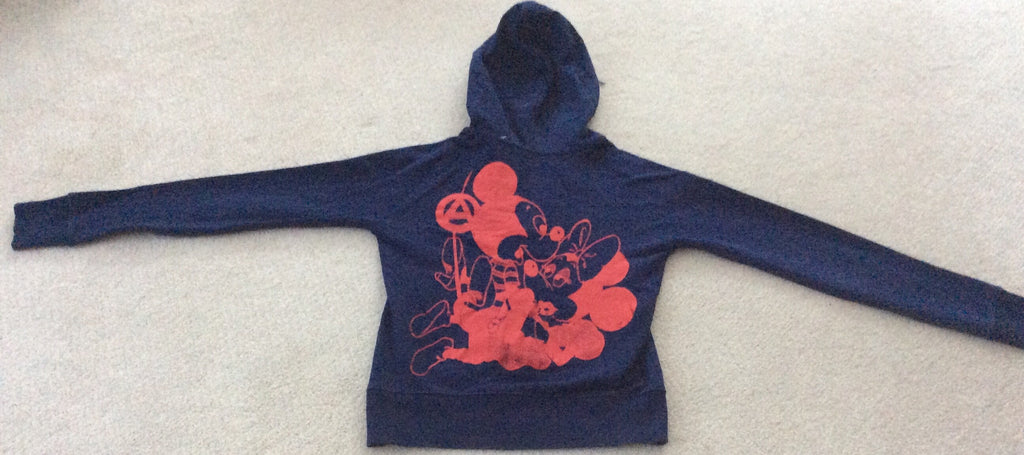 Mickey & Minnie Mouse Sex Hooded Sweater Anarchy Punk Jumper