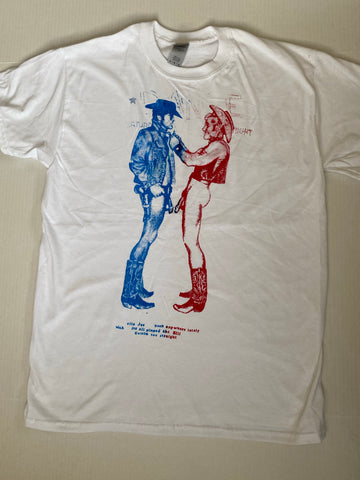 Seditionaries COWBOYS T-shirt all sizes