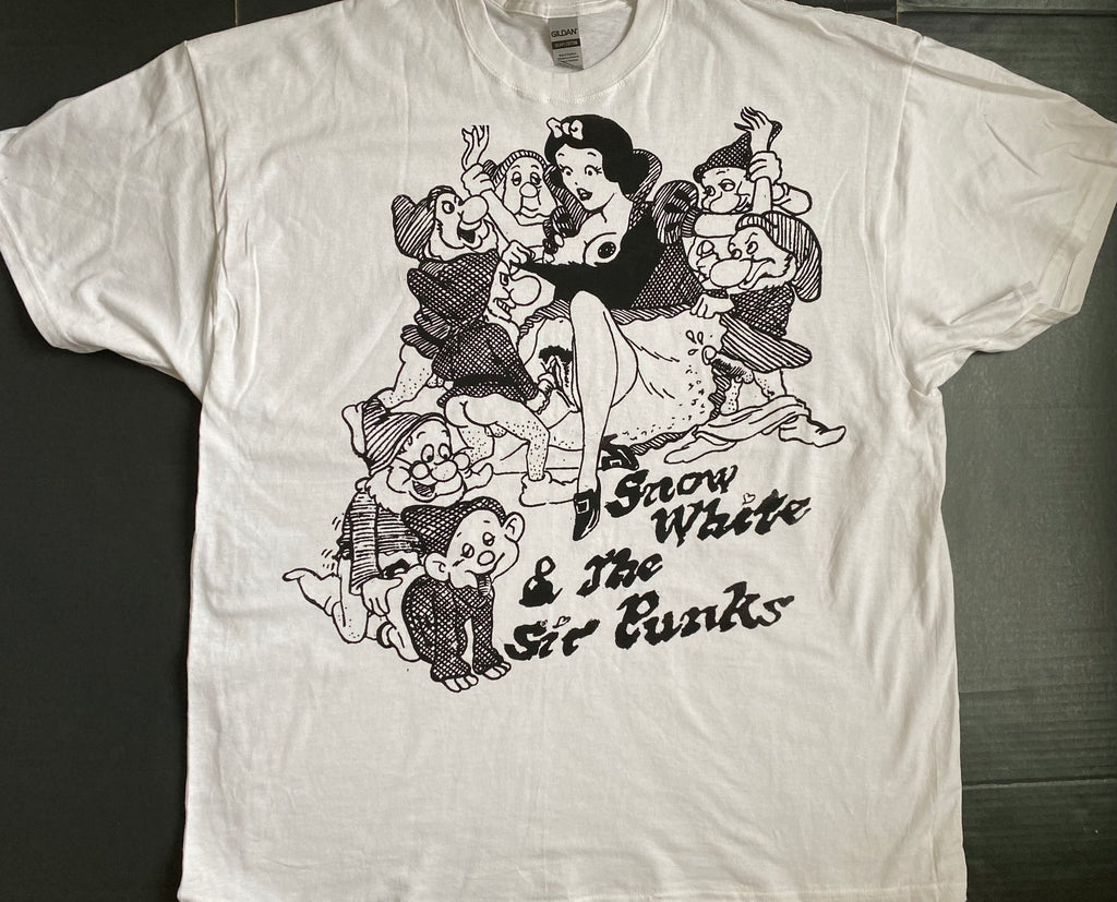 Snow White and the Sir Punks - Seditionaries Punk Cartoon T-shirt