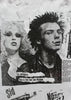 Sid Vicious and Nancy 'No Imitators' Punk Slit T-shirt