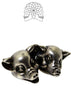 Sterling Silver Pig Brooch