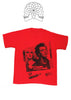 Sid Vicious and Nancy 'No Imitators' Punk T-shirt - Red 36/38""