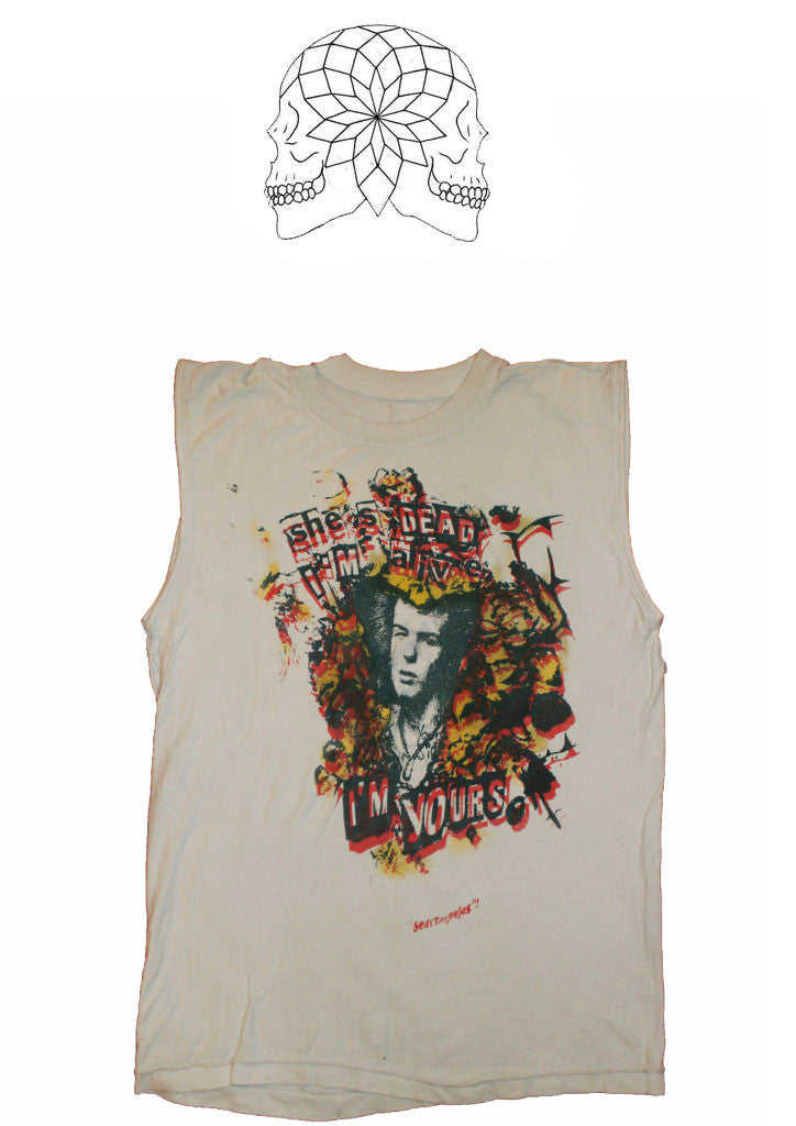 Sid Vicious Seditionaries.Vintage Punk T-shirt