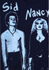 Sid Vicious and Nancy in Handcuffs T-shirt - Sex Pistols Punk Tee - XSm 32""