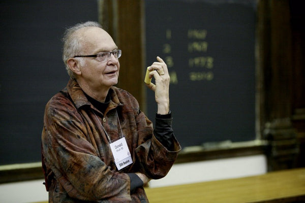 Donald Knuth at Stanford University
