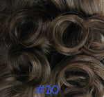 Straight with Plaits Clip-in Hair Pieces