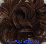 Wavy Messy Elastic Hair Scrunchies