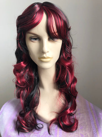 Silky, Long, Curly Hair Wigs [3 colours]