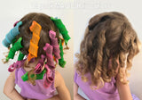 MAGIC Hair Curlers - DIY Leverage Spiral Rollers [18 piece pack]