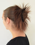 Spiky Straight Hair Scrunchies