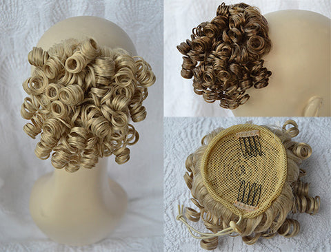 [Tiny Tots] Dancer's Ringlets Drawstring Wiglet