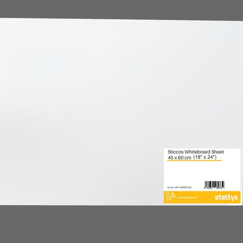 "Sticcos Whiteboard Sheet (18"" x 24"") <br> <br>"