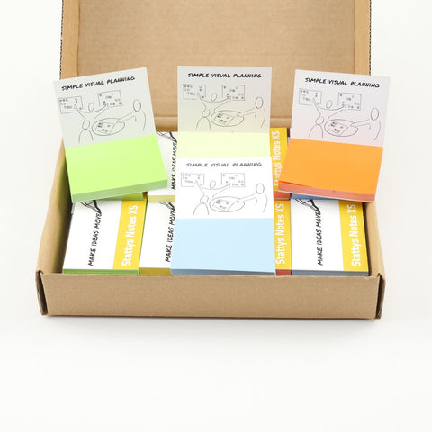 Stattys Notes XS Box <br> (40 units set)<br>  <br>