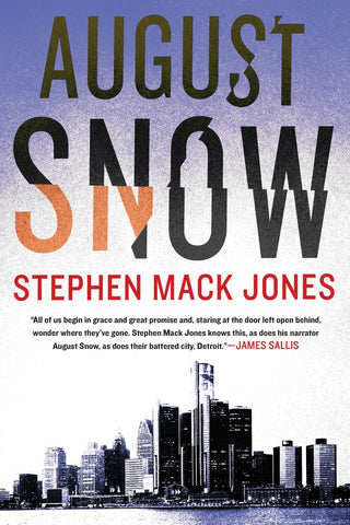 August Snow (paperback)