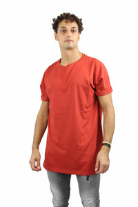 T-shirt OVER-D oversize coccio