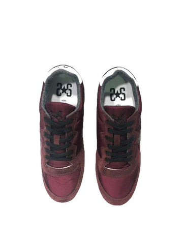 Image of Scarpe uomo 2 star Torino sneakers shoes saldi running bordeaux shop online