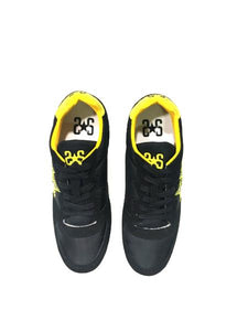 Scarpa 2 STAR shoes running nero e giallo