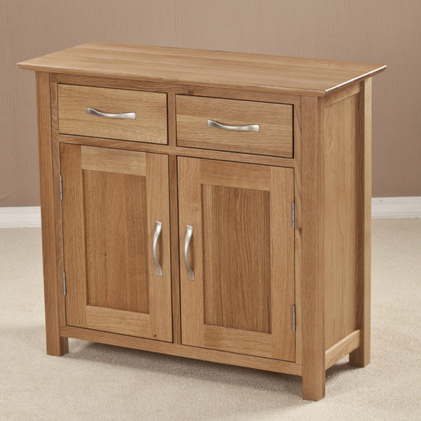 Ashton Oak Small Sideboard Quarter Solid Wood Furniture