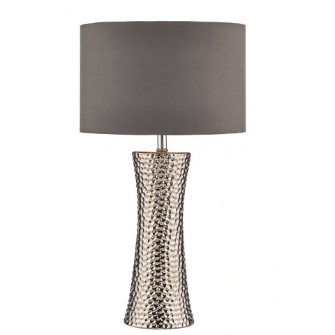 Bokara Silver Table Lamp