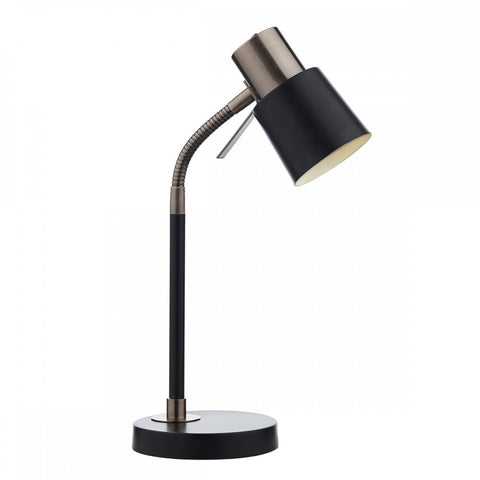 Bond Black And Copper Table Lamp